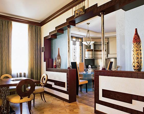 кухни с аркой дизайн фото