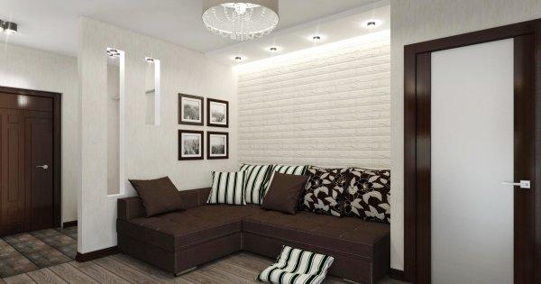 Дизайн-проект и план перепланировки квартиры на Каменной горке