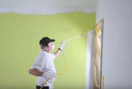 Безвоздушная покраска механизированным способом - Услуга от RemontMinsk