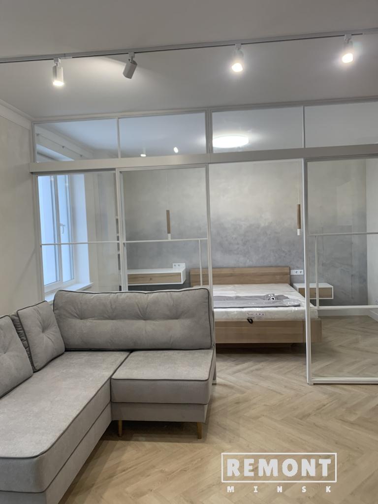 Смета ремонта однокомнатной квартиры-студии. Итоговые фото